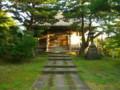 水と土の芸術祭2009-お祈りプロジェクト-秋葉区・秋葉神社境内
