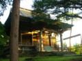 水と土の芸術祭2009-お祈りプロジェクト-秋葉区・秋葉神社本殿