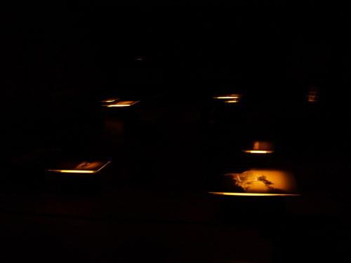 水と土の芸術祭 2009-川の記憶(北区・旧まるふく)展示場内
