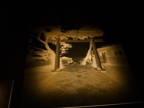 水と土の芸術祭 2009-川の記憶(北区・旧まるふく)松浜稲荷神社