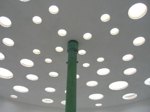 水と土の芸術祭 2009-水の声-Water Whisper-内部天井