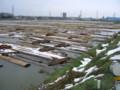 水と土の芸術祭 2009-Earth ON AIR(東区・県営第一貯木場)02