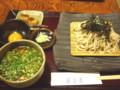 藪蕎麦(新潟市中央区古町通り八番町)の鳥辛そば