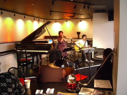 金井拓明 (g) 吉川ナオミ (vo)Duo at Piano Piano 02
