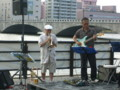 萬代橋サンセットカフェ20110723・古沢和良グループ01
