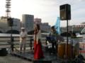 萬代橋サンセットカフェ20110723・古沢和良グループ02