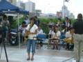 candle for japan 20110729・敬和学園高校器楽部 Jazz Hornets01