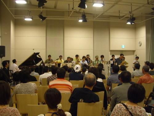 遠藤幸雄とフルハウス@北区ジャズ祭り2011(8/26)01