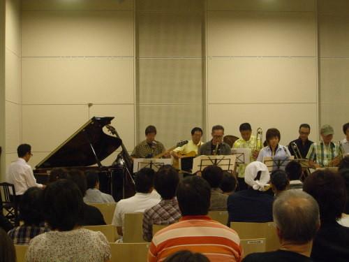 遠藤幸雄とフルハウス@北区ジャズ祭り2011(8/26)02