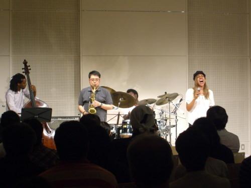 ゲストセッション@北区ジャズ祭り2011(8/26)02