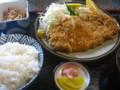 いせ善食堂(小千谷市旭町)のとんかつセット