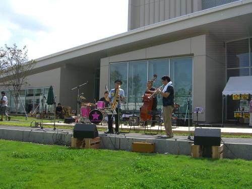 Jimacco Band @北区ジャズ祭り2011(8/28)00