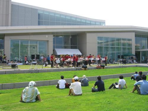 TWE Big Band@北区ジャズ祭り2011(8/28)01