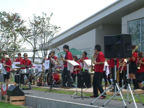 TWE Big Band@北区ジャズ祭り2011(8/28)02