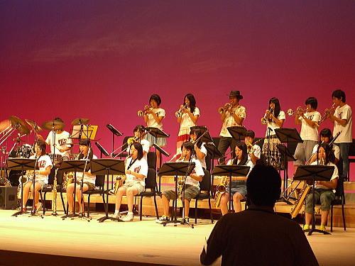 敬和学園高等学校 Jazz Hornets@北区ジャズ祭り2011(8/28)01