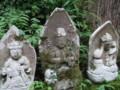 慈光寺(五泉市蛭野)の石仏群