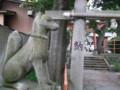 開運稲荷神社(新潟市中央区四ッ屋町)のこんこん様