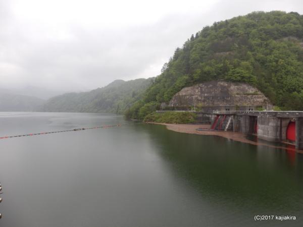内の倉ダム(新発田市)