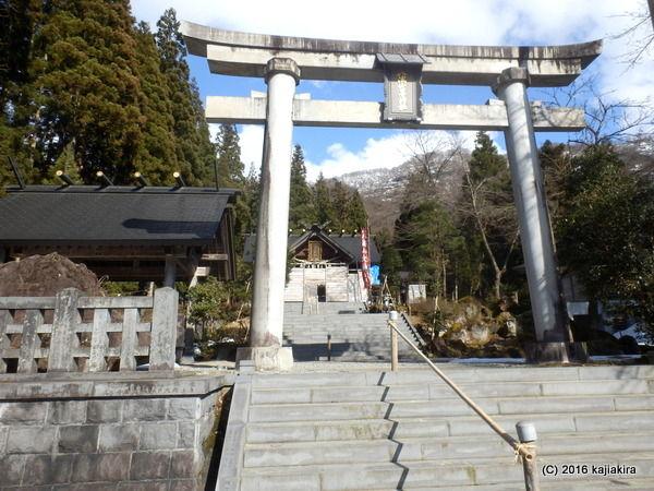 八海山尊神社(南魚沼市大崎4161)2016年03月