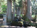 新潟県の名水・雷電様の水[藤原神社](南魚沼市藤原)2016年05月