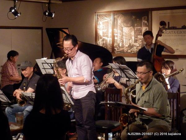 Mario's Jazz Ensamble@ジョイアミーア-201607