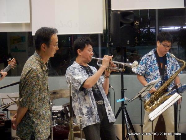 CAN$JAZZ BAND@新潟国際情報大学新潟中央キャンパス-201607
