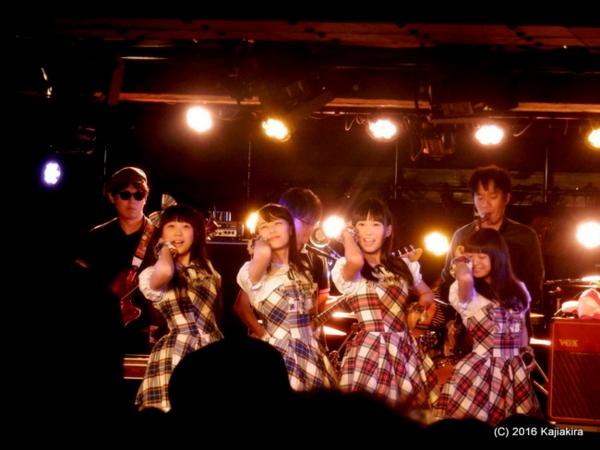 鈴木恵 & OUR GANG『日本海夕日ラインフェスティバル』201609
