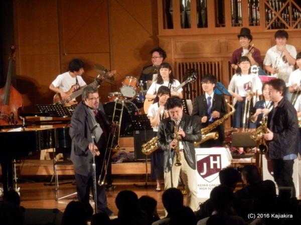 敬和学園高校器楽部 JAZZ HORNETS@太夫浜コンサート2016(10/21)