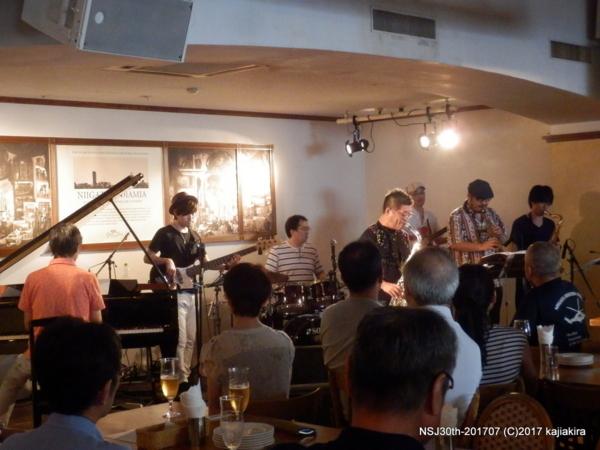 TsuboさんRENAさんYossyさん@ジョイアミーア(古町)☆第30回新潟ジャズ