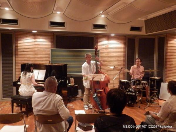 Satomi Trio@音楽文化会館 練習室12(古町)☆第30回新潟ジャズストリー