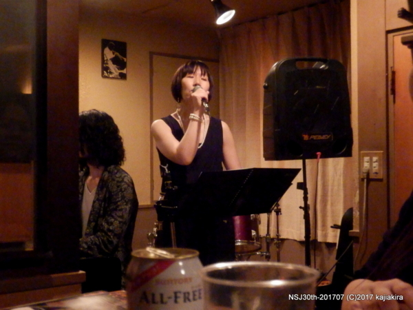 Pearl & 楠直孝DUO@ジャズ喫茶 A7(古町)☆第30回新潟ジャズストリート(7