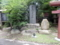 諏訪神社境内・大竹与茂七の碑