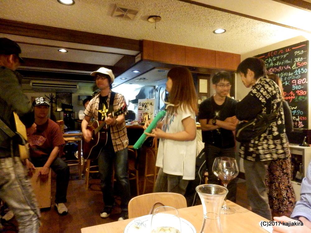 Acoustic Live Caffe e vin da Marco(新潟市秋葉区)20170924