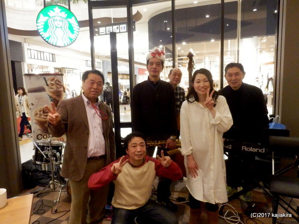 ウエンズ・クリスマスライブ@スターバックス・イオンモール新潟南店