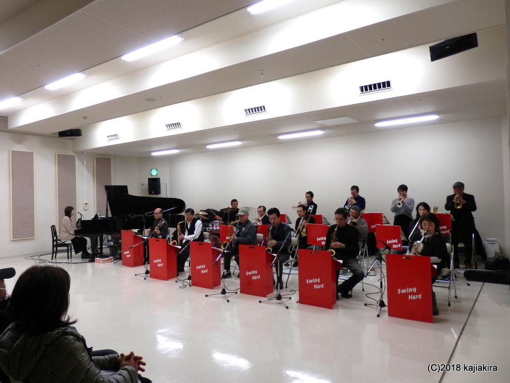 スイングハードジャズオーケストラ@音楽文化会館練習室10★第31回