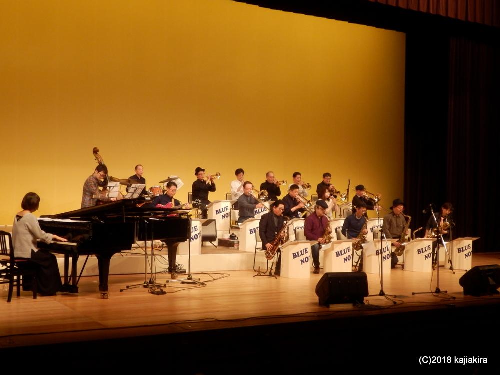 Blue Note Jazz Orchestra@音楽文化会館ホール★第31回新潟ジャズストリー