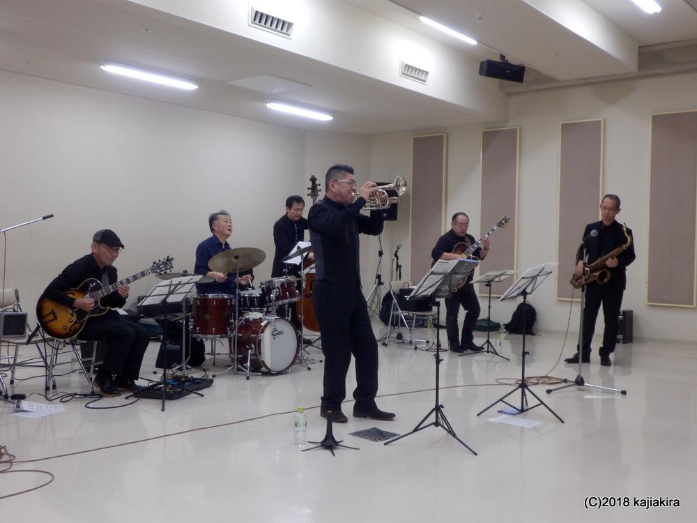 今タクオグループ@音楽文化会館練習室10★第31回新潟ジャズストリ