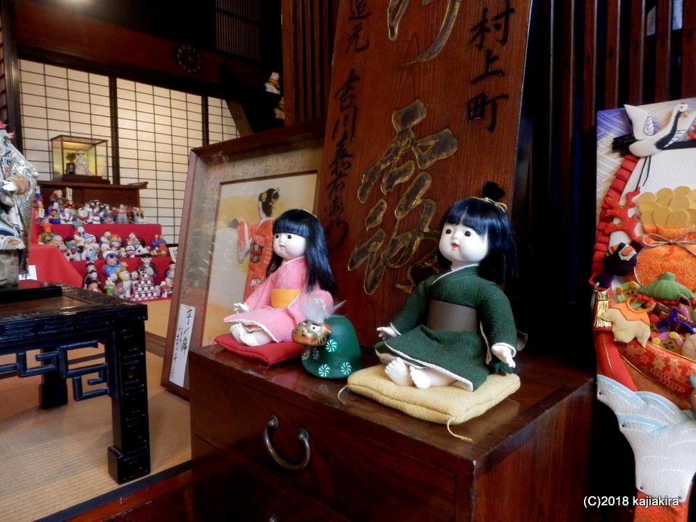 町屋の人形さま巡り2018(村上市)