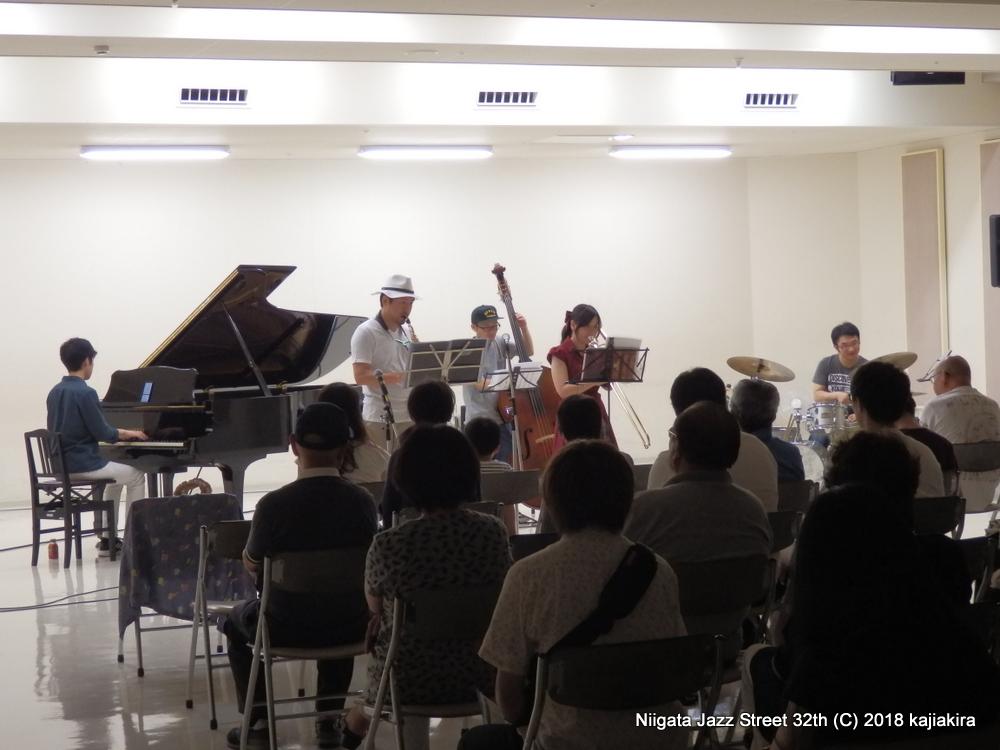 あかねさす@音楽文化会館 練習室10☆第32回新潟ジャズストリート