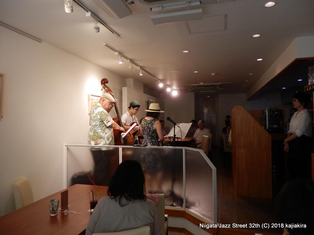 B♭'s @Salix☆第32回新潟ジャズストリート