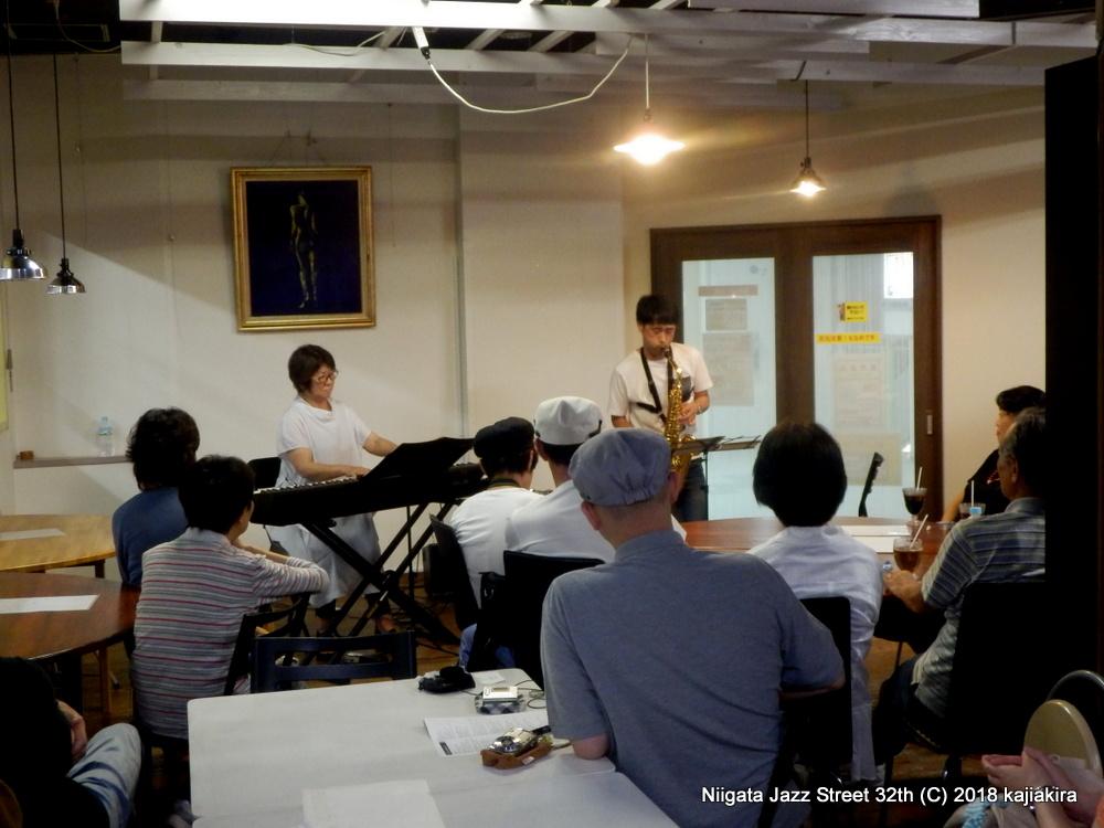 Cross Talk @カフェ りんく☆第32回新潟ジャズストリート