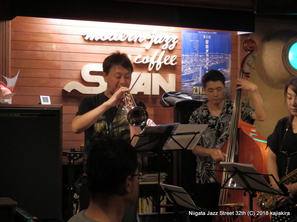 U-BOAT @ジャズ喫茶 スワン☆第32回新潟ジャズストリート