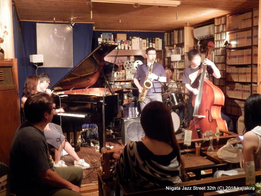 アフターセッション@Jazz Flash☆第32回新潟ジャズストリート