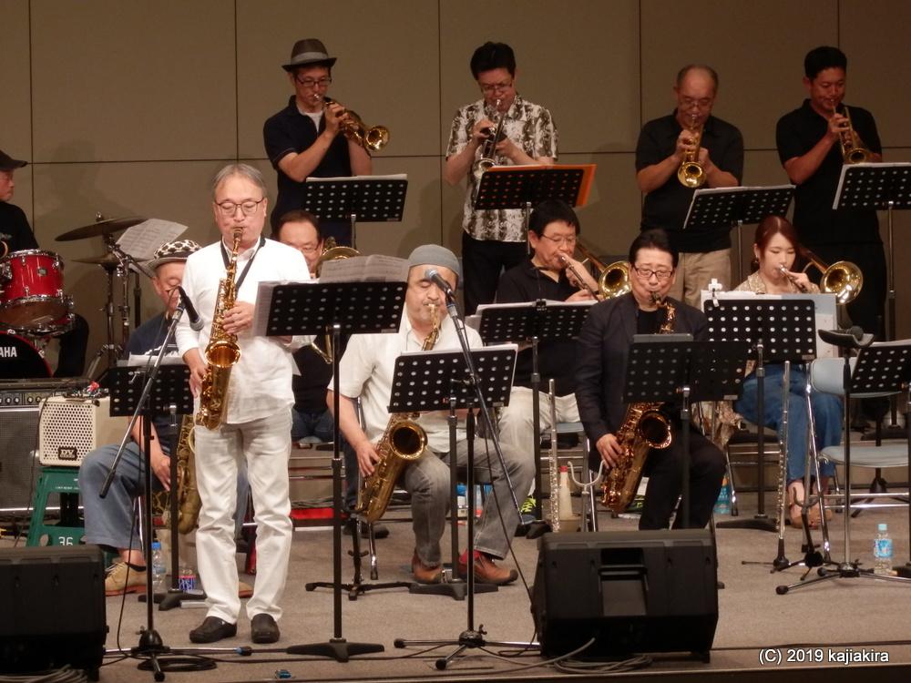 Blue Note Jazz Orchestra@市民プラザ( NEXT21 6F)☆第34回新潟ジャズストリート