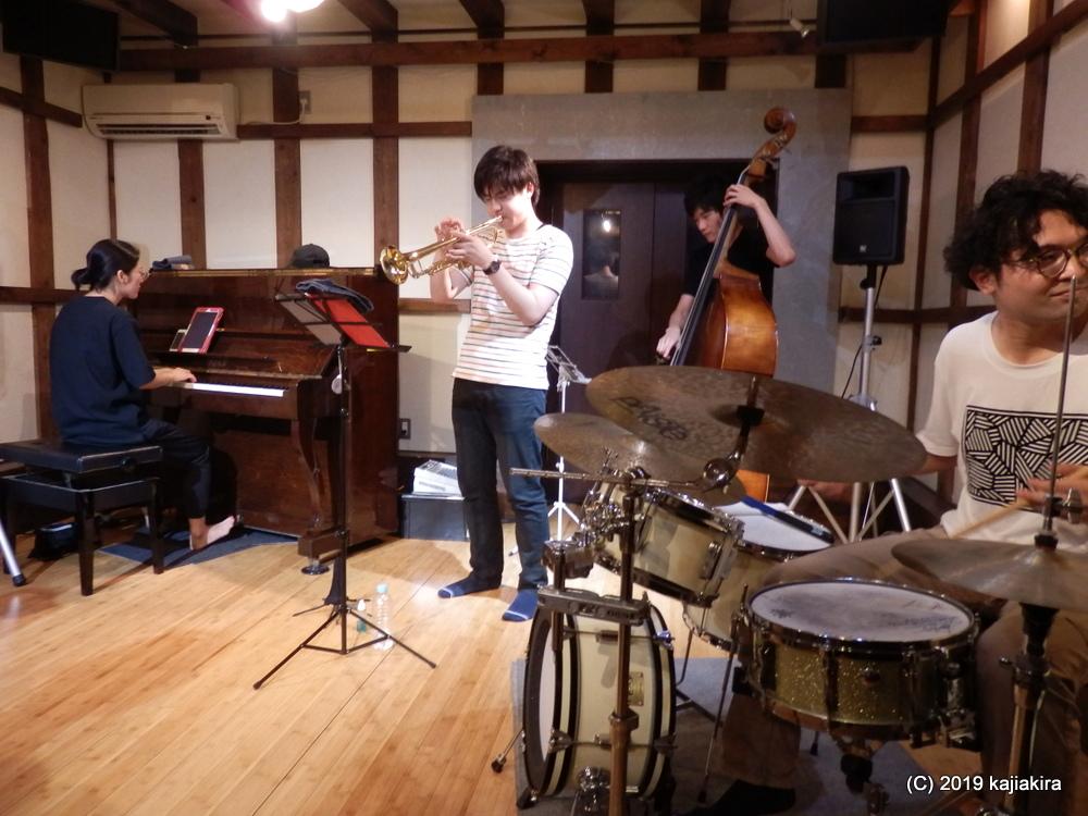 Perturb band@蔵織(西堀前通1)☆第34回新潟ジャズストリート