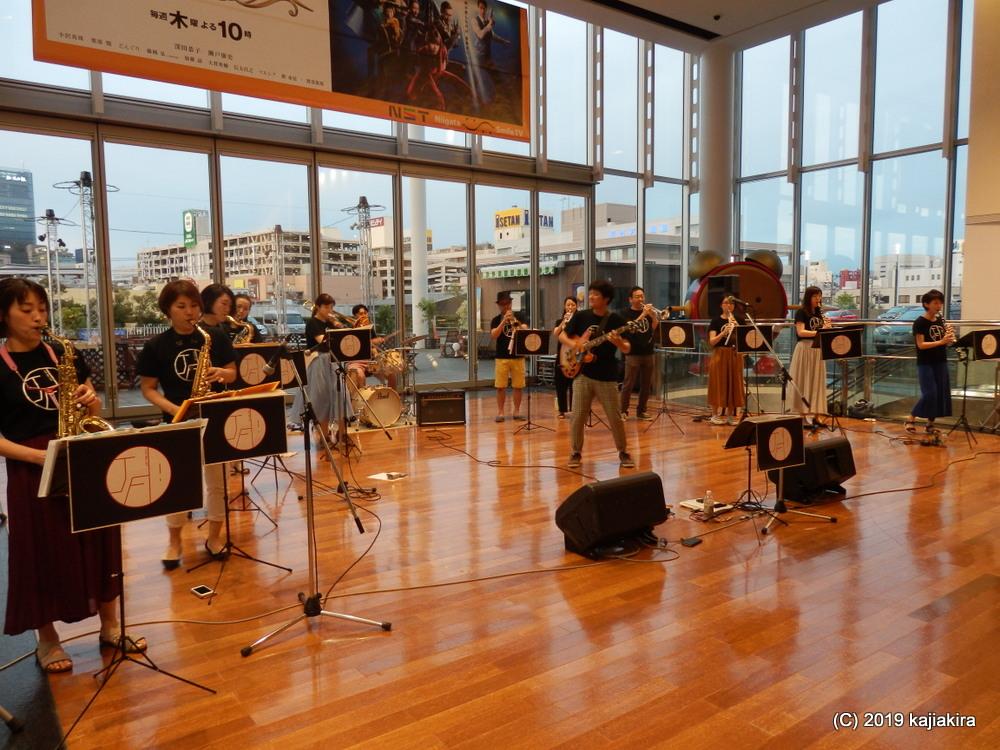 JUST FINE DAY!@NSTゆめホール(万代・八千代2)☆第34回新潟ジャズストリート