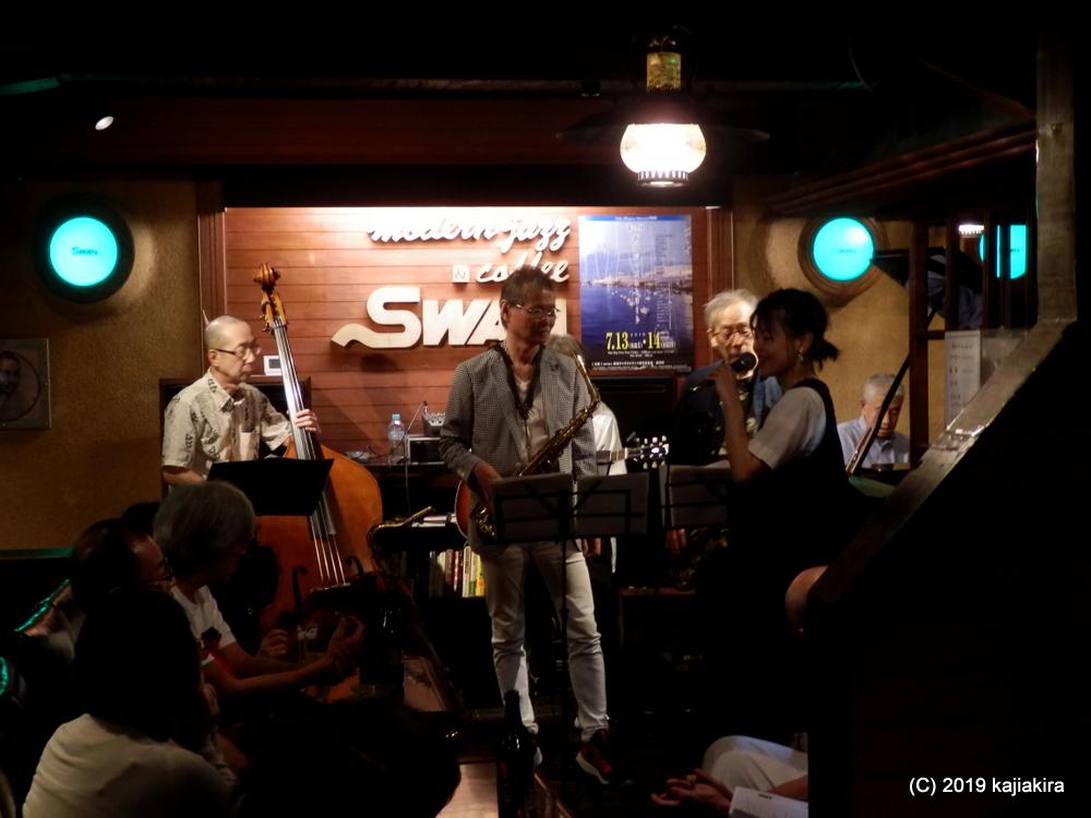 サニーサイドアップSP@ジャズ喫茶 スワン(西堀通4)☆第34回新潟ジャズストリート