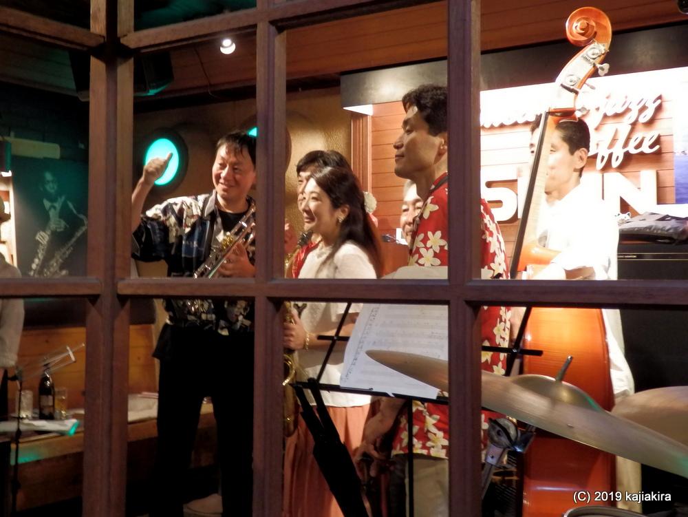 U-BOAT@ジャズ喫茶 スワン(西堀通4)☆第34回新潟ジャズストリート