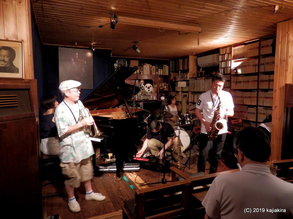 Jam Session@ジャズ フラッシュ(東堀通5)☆第34回新潟ジャズストリート