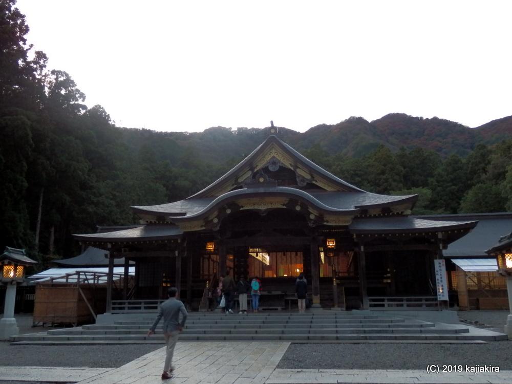 彌彦神社(西蒲原郡弥彦村)